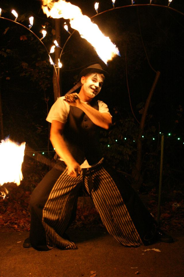 Fire Poi with Michael Parisi